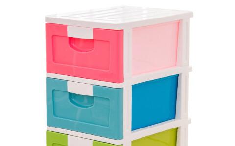 抽屉式塑料收纳柜注塑模具加工成型